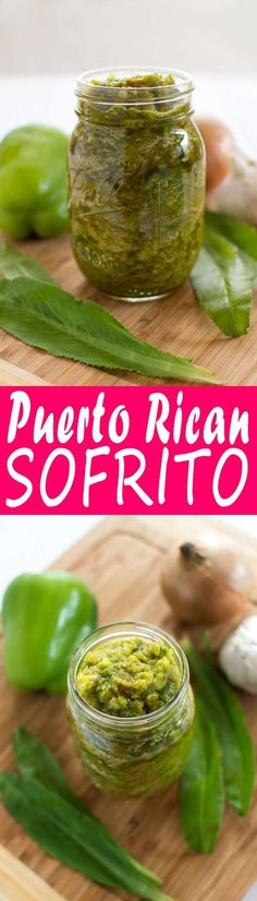 make Puerto Rican sofrito at home! Vegetables and herbs are blended together to form the flavor base for many Puerto Rican dishes. Puerto Rican Sofrito, Puerto Rican Dishes, Puerto Rican Cuisine, Puerto Rican Recipes, Mexican Food Recipes, Ethnic Recipes, Pasteles Puerto Rico Recipe, Puerto Rican Pasteles, Mexican Dishes