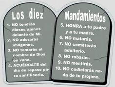 imagenes de los mandamientos de dios (1)