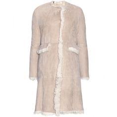 Designer Clothes, Shoes & Bags for Women Shearling Coat, Fur Coat, Ladies Coat Design, Beige Coat, Luxury Fashion, Womens Fashion, Miley Cyrus, Designing Women, Vogue