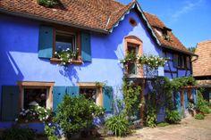 Jardins de la Ferme Bleue à Uttenhoffen, Alsace, France