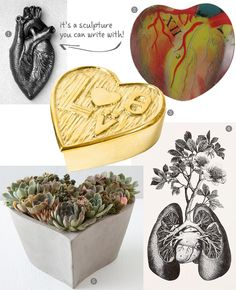 Classy heart shaped decor that's perfect for #Valentine's Day
