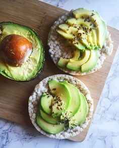 So lucky to have had only 2 leftover rice cakes and my hallmate gave me the other half of her avocado because I haven't gone grocery shopping since coming back from SF  but luckily my favourite person and I are going to make the rounds to our loves (WF and TJs) ✨ today I also experimented by adding garlic powder to my avo and it is  #avocado #ricecakes #breakfast #organic #glutenfree  Yummery - best recipes. Follow Us! #veganfoodporn