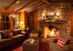 Lower level entertainment room at Oak - Star Lake cabin rental