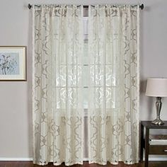 Montego Window Curtain Panels