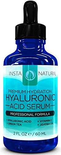 InstaNatural Hyaluronic Acid Serum -2OZ- With Vitamin C + Green Tea + Vitamin E - BEST Anti-Aging Serum for Face, Fine Lines & Wrinkles - Obtain Youthful, Radiant, Plump, and Vibrant Skin That You Have Always Desired -TWICE the SIZE comapred to Other Bottles InstaNatural http://www.amazon.co.uk/dp/B00K2O3NV2/ref=cm_sw_r_pi_dp_I7Iawb1AM7M30