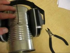 The soup can wifi antenna - YouTube