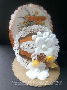 "Stampin' Up 2009 ""Victorian bouquet"""