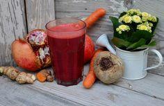 Jus de fruits et légumes detox
