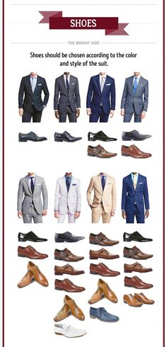 Suits and shoes pairing Mode Outfits, Casual Outfits, Men Casual, Fashion Outfits, Casual Shoes, Big Men Fashion, Mens Fashion Suits, Fashion Menswear, Men's Fashion