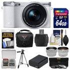 Samsung NX500 Smart Wi-Fi 4K Digital Camera