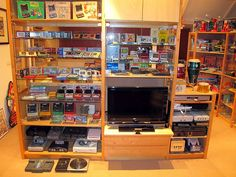 I THINK THIS IS A MUST HAVE! (Gaming Room by Danny Choo, via Flickr)