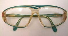 RARE Vintage CAZAL Eyeglasses  AMAZING style  by ifoundgallery, $245.00