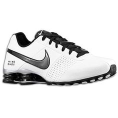 Nike Shox Deliver - Men\u0026#39;s - White/Black/Metallic Silver