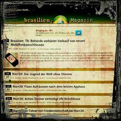 http://brasilienmagazin.net for mobile devices ...