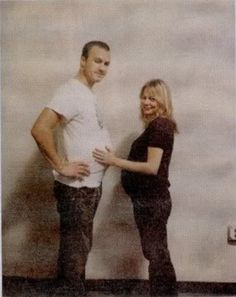 """this is the cutest yet saddest thing ever. Heath Ledger and Michelle Williams """"Pregnant"""""""