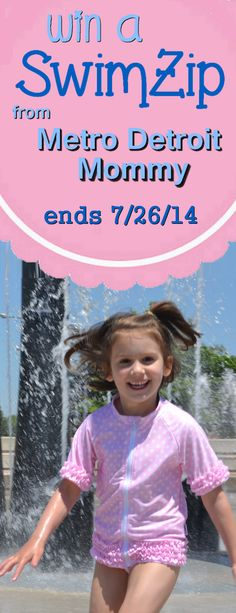 Win a SwimZip: bathing suits that are stylish and sun smart #swimzip #sunprotection #giveaway