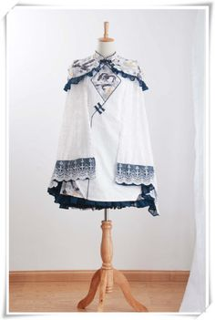 Lolita与国风的结合—— 中華風(Qi lolita)(转)_自媒体_YOKA时尚网