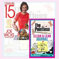 Clean & Lean #Journal Collection 2 Books Set (Lean in 15, The Not So Pointless) #Diets_Books #BooksCollection #Cookbook