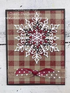 Awesome DIY Chirstmas Card Ideas - Stamp Me Some Love christmasdecorations Homemade Christmas Cards, Christmas Cards To Make, Xmas Cards, Homemade Cards, Holiday Cards, Cards Diy, Diy Christmas Snowflakes, Snowflake Cards, Noel Christmas