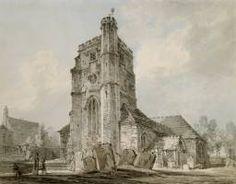 Joseph Mallord William Turner St Mary's Church, Monken Hadley 1793 Turner Worldwide