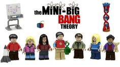 "Fans can vote for their very own Lego set of ""The Big Bang Theory"" complete with Leonard, Sheldon, their friends and even Raj's pup Cinnamon."