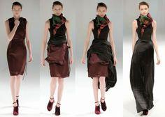 Fantasy Fashion Design: Hussein Chalayan Rise colección otoño invierno 2013-2014