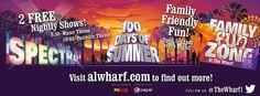 The 100 Days of Summer at The Wharf Orange Beach!