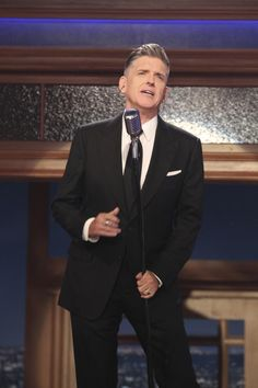 Craig Ferguson, on his final Late Late Show...I miss him!!