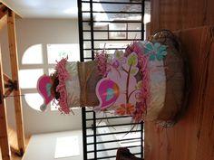 Baby shower bird themed diaper cake