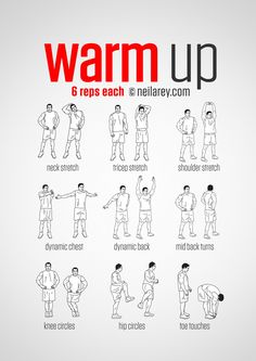 Pre-Workout Warm Up
