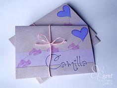 Elegraf Grafica Freelance: Biglietti ricordo del battesimo per Camilla