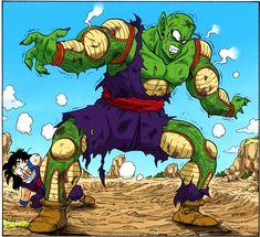Dragon Ball Z: Piccolo saves Gohan