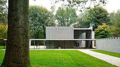 Pabellón Rietveld, Gerrit Rietveld - 3ª Exposición Internacional de la Escultura en el parque Sonsbeek Park de Arnhem