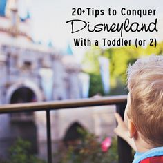 20 Tips to Conquer Disneyland with a Toddler (or 2) // disneyland tips with a toddler, disney tips, disneyland, disneyland with kids