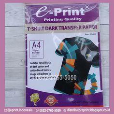 Transfer Paper Baju ini memiliki kualitas barang yang bagus dan juga pengiriman yang terpercaya,Pemesanan kertas ini hubungi +62 852-2765-5050 Paper Light, Quality T Shirts, Transfer Paper, Prints, Blog, Blogging, Paper Chandelier