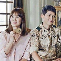 Descendants Of The Sun Descendants, Song Joong Ki Birthday, Decendants Of The Sun, Sun Song, Songsong Couple, Song Joon Ki, Korean Drama Series, Song Hye Kyo, Romance