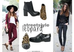 Leopard booties, enkellaarsjes, oxford shoes...