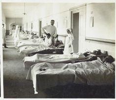 Ospedale n. 10 Cividale. 1° reparto, 1916,  Reparto Cinematografico del Regio Esercito Italiano   #TuscanyAgriturismoGiratola