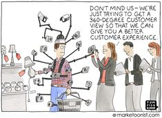 A weekly marketing cartoon by Tom Fishburne since If a picture tells a thousand words, a marketoon tells a thousand boring powerpoint slides.