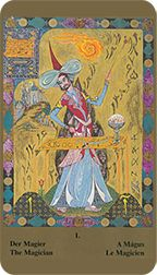 Magician from the Kazanlar Tarot at TarotAdvice Tarot Reading, Tarot Decks, Tarot Cards, The Magicians, Art Gallery, Painting, Image, Tarot Card Decks, Art Museum