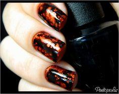 Riveting - China Glaze + Black Spotted - OPI by Penélope Luz, via Flickr