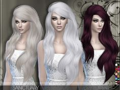 Stealthic: Sanctuary hairstyle  - Sims 4 Hairs - http://sims4hairs.com/stealthic-sanctuary-hairstyle/