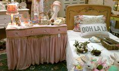 Sweet dealer space set up at Flukes Finds & Friends shop in Newburyport MA