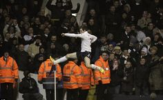 Gareth Bale scores for Spurs #COYS