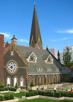 One of Portland Oregon's lovely old churches. <3