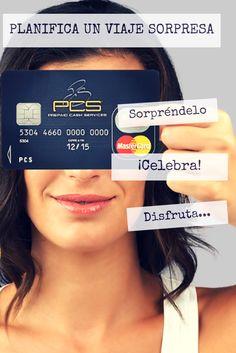 ¿Qué es una tarjeta prepago? A diferencia de una tarjeta de crédito o de débito, en una de prepago el usuario de la tarjeta anticipa el importe a gastar. Por ejemplo, en el caso puntual de la tarjeta prepago PCS MasterCard®, se carga la tarjeta con la cantidad de euros deseados y se pagan todos los gastos planeados con la tarjeta prepago hasta agotar el importe y cuando se desea, se recarga. www.pcsmastercard.es