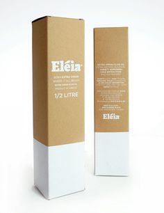 Eleia OliveOil - The Dieline -