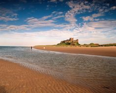 Summer is here! Visit Northumberland's Beautiful Coastline.  Bamburgh Beach and Castle.  http://www.visitnorthumberland.com/coast/bamburgh