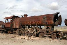 Urban GhostsThe Train Graveyard of the Atacama Desert   Urban Ghosts