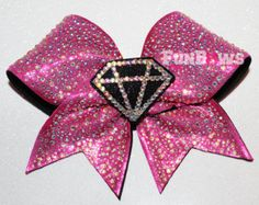 Totally maxed out in diamonds !!! Cheer bow by FunBows !!